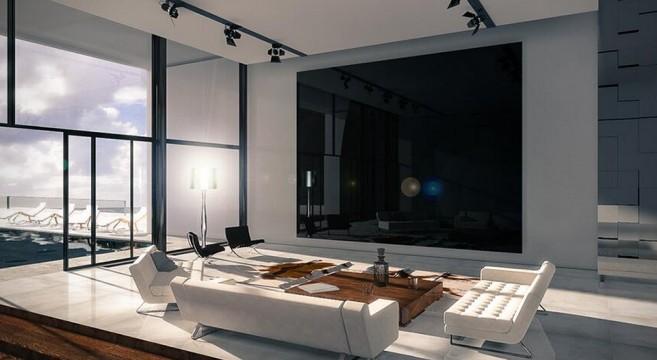 la tv titan zeus la tv uhd 4k le plus grand du monde. Black Bedroom Furniture Sets. Home Design Ideas