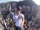Selfie depuis un gratte-ciel de Hong-Kong !