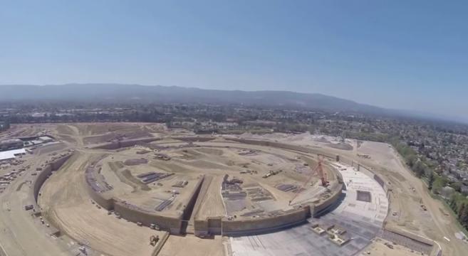 GoPro et drone, le nouveau siège social d'Apple !