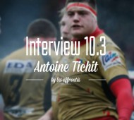 ANTOINE TICHIT x INTERVIEW 10.3 by les Effrontés.