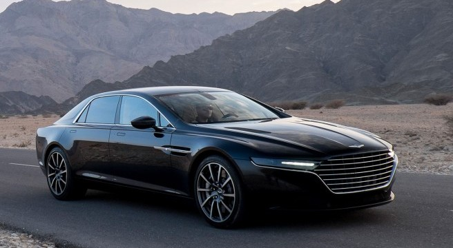 Nouvelle Aston Martin Lagonga Sedan