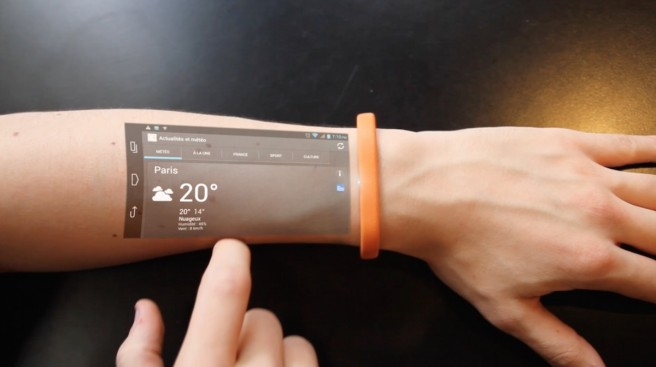 Le bracelet connecté Cicret