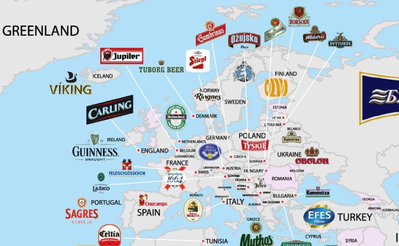 Les bières les plus consommées dans le monde
