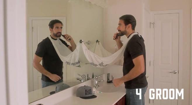 the beard king le r cup rateur de poil de barbe effront. Black Bedroom Furniture Sets. Home Design Ideas