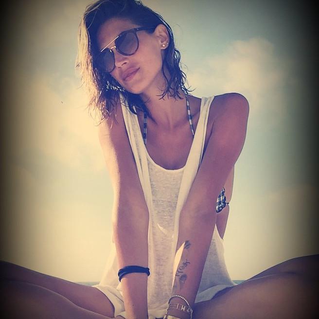 Melissa Satta-Instagirl-Instagram-Sexy-Jolie-Fille-Bombe-Blonde-Argentine-Italienne-Mannequin-Femme-Sport-Football-Kevin-Prince-Boateng-Wag-Bikini-effronte-07