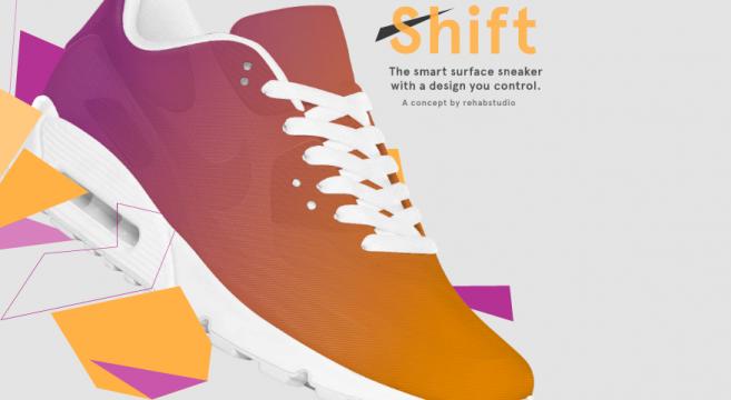 Shift sneakers Changez la couleur de vos sneakers à volonté rehab studio 01