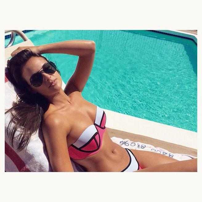 Jade Leboeuf-Instagirl-Instagram-Sexy-Jolie-Canon-Fille-Femme-Brune-Française-France-Franck-Leboeuf-Mannequin-2014-Joueur-Foot-effronte-01