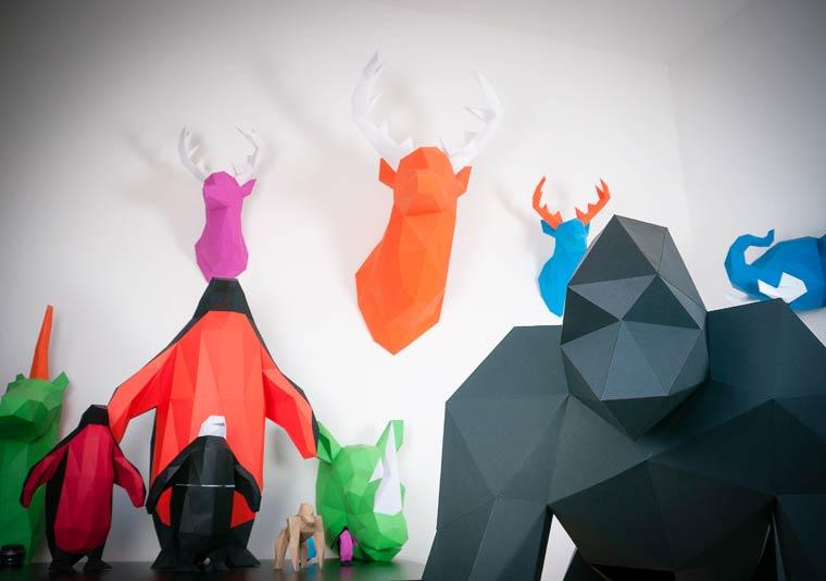 Holger-Hoffmann-Paper-Trophy-Design-Animaux-Papier-effronté-04