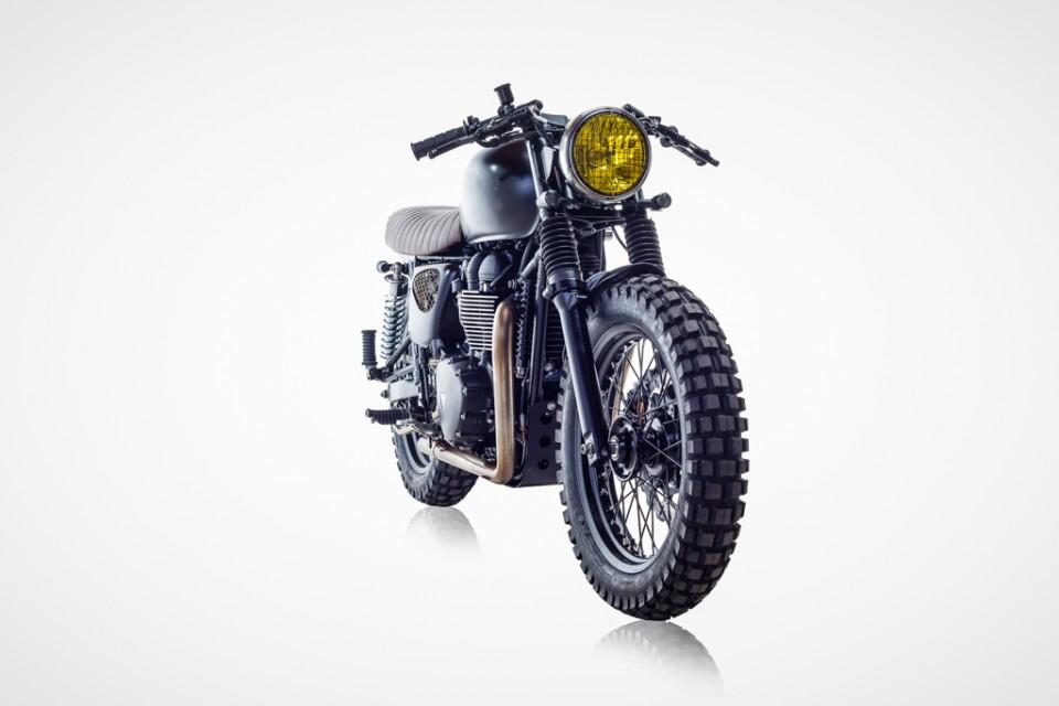Triumph Bonneville de David Beckham par British-Customs-effronté-01