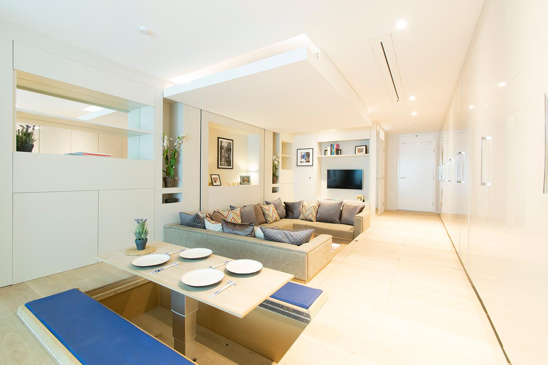 YO! Home-Séjour-Salle à manger-Simon Woodroffe-Logement-luxe-convertible