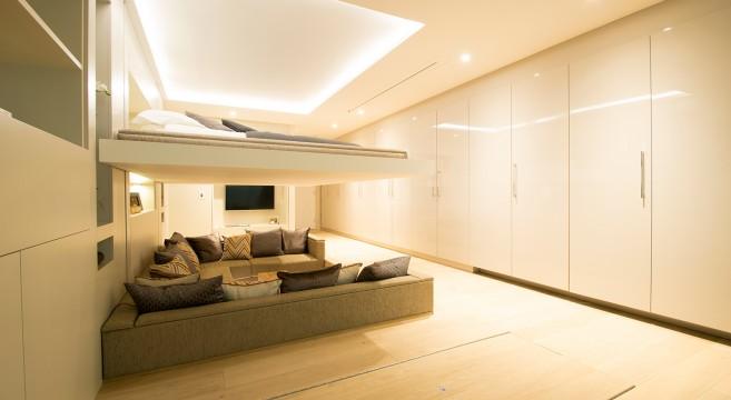 YO! Home-Salon-Lit-Simon Woodroffe-Logement-luxe-convertible