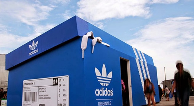 Pop-Up store-Adidas-Cool-Design-Sélection-10-effronté-Barcelone