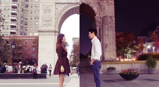 Shinliart-couple-qui-raconte-de-la-plus-belle-manière-sa-relation-à-distance-sur-instagram-Danbi Shin-Seok Li