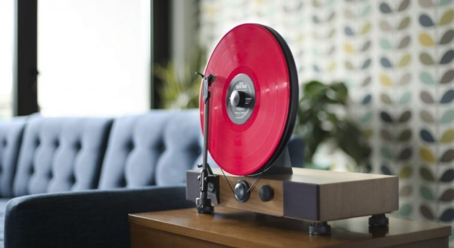 le gramovox floating record effront. Black Bedroom Furniture Sets. Home Design Ideas