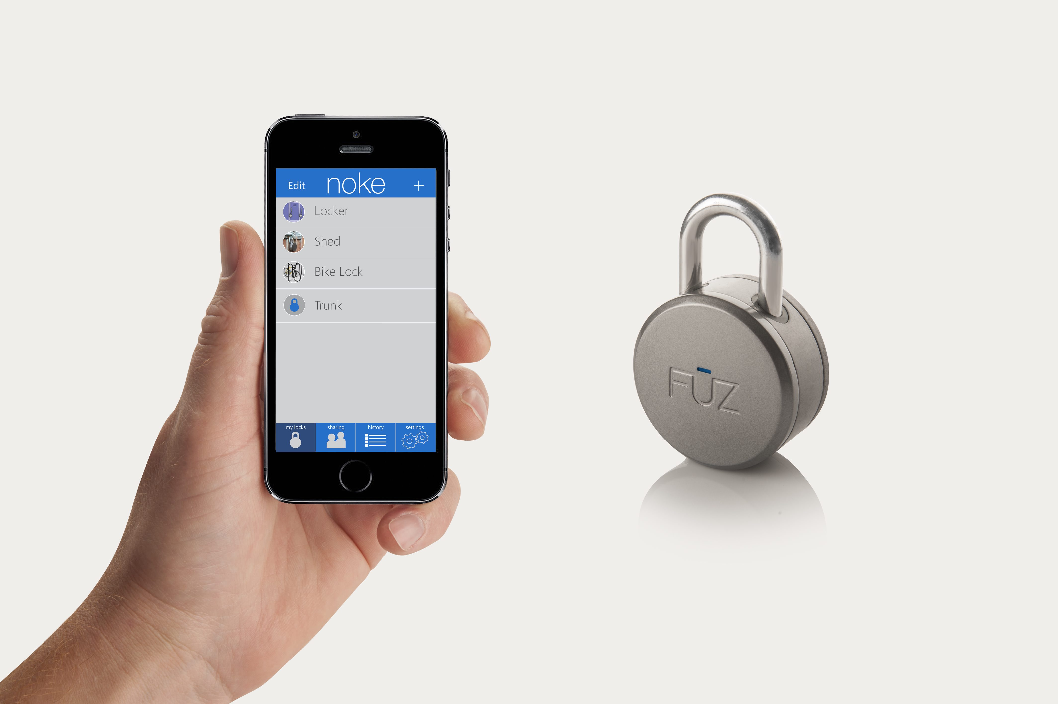 Le cadenas Noké fonctionne grace au bluetooth-effronté-high-tech-technologie-01_mini
