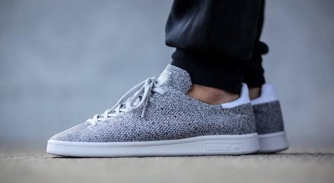 adidas Stan Smith Primeknit solid grey sneaker