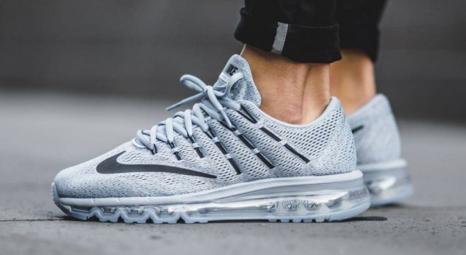 Air Max 2016 Grise Et Rose