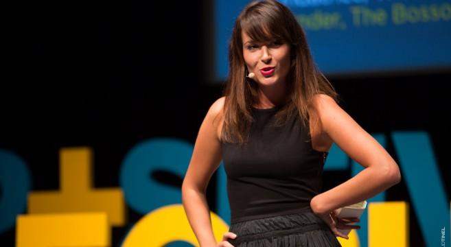 Emmanuelle Duez-et-sa-vision-de-la-Generation Y-Bosson-Project-Positive-Economy-Forum-Le-Havre-effronté