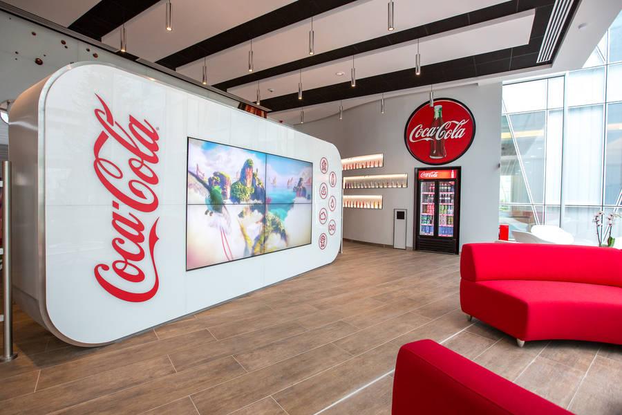 Les nouveaux bureaux de Coca-Cola France 02
