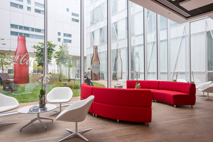 Les nouveaux bureaux de Coca-Cola France 03