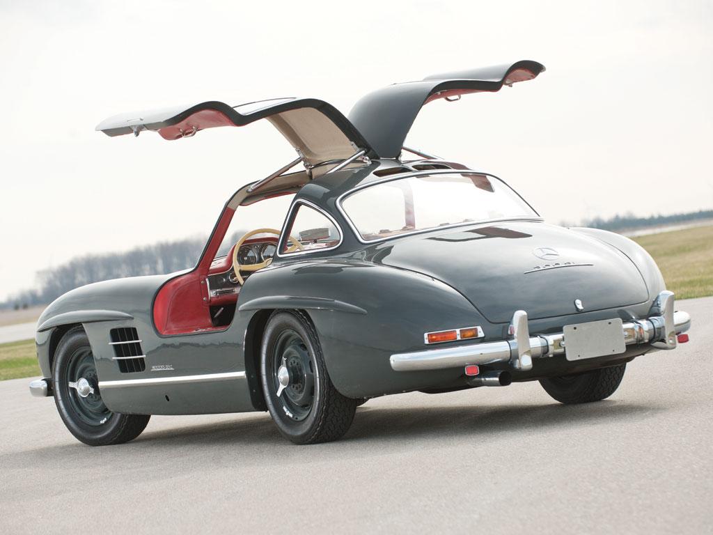 Mercedes benz 300sl gullwing de 1955 effront for 1955 mercedes benz
