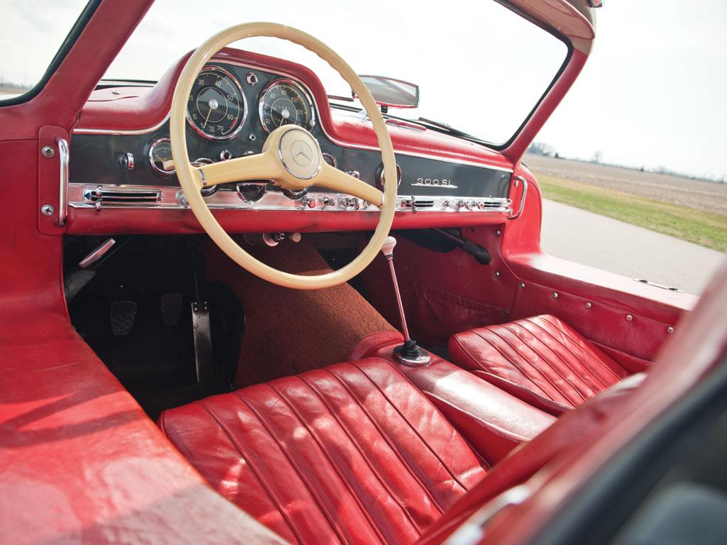 Mercedes-Benz 300SL-Gullwing-de-1955-collection-enchères-auction-Rmsothebys-effronté-04