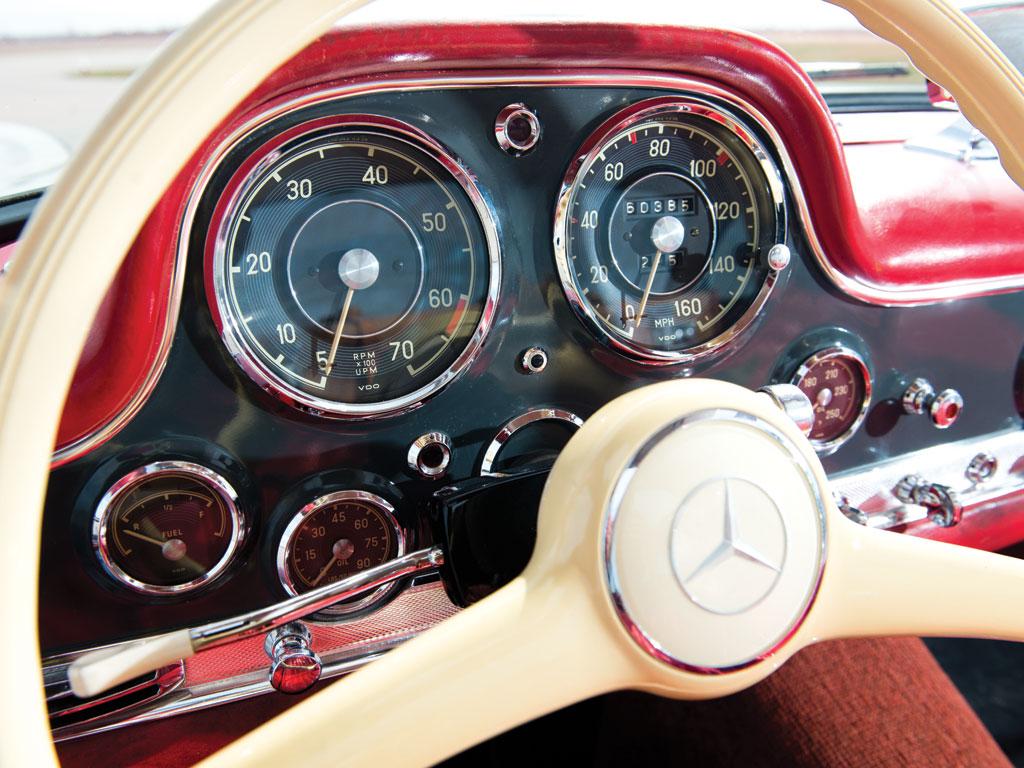 Mercedes-Benz 300SL-Gullwing-de-1955-collection-enchères-auction-Rmsothebys-effronté-10