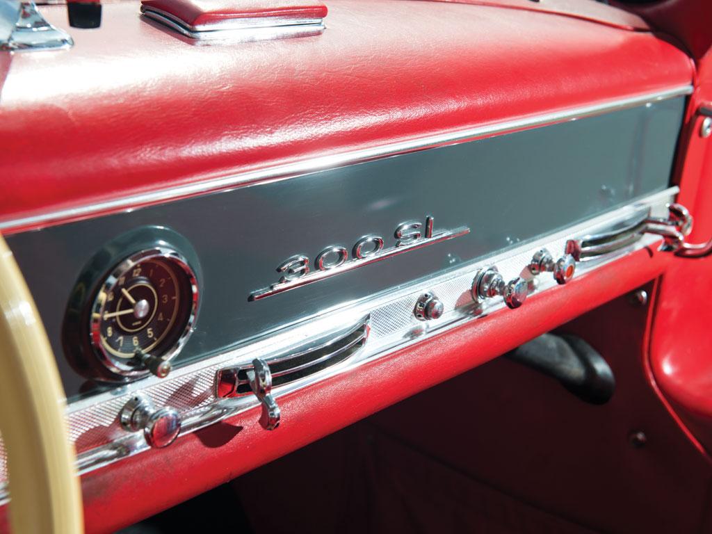 Mercedes-Benz 300SL-Gullwing-de-1955-collection-enchères-auction-Rmsothebys-effronté-11