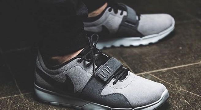 Nouvelle-Nike SB Trainerendor Leather-Cuir-Nubuck-Bleu-gris:Gris foncé-Gris loup-Cool Grey-Noir-effronté-03