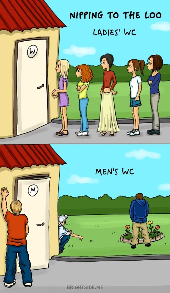 Des clichés tellement drôles sur les différences entre Hommes et Femmes 03