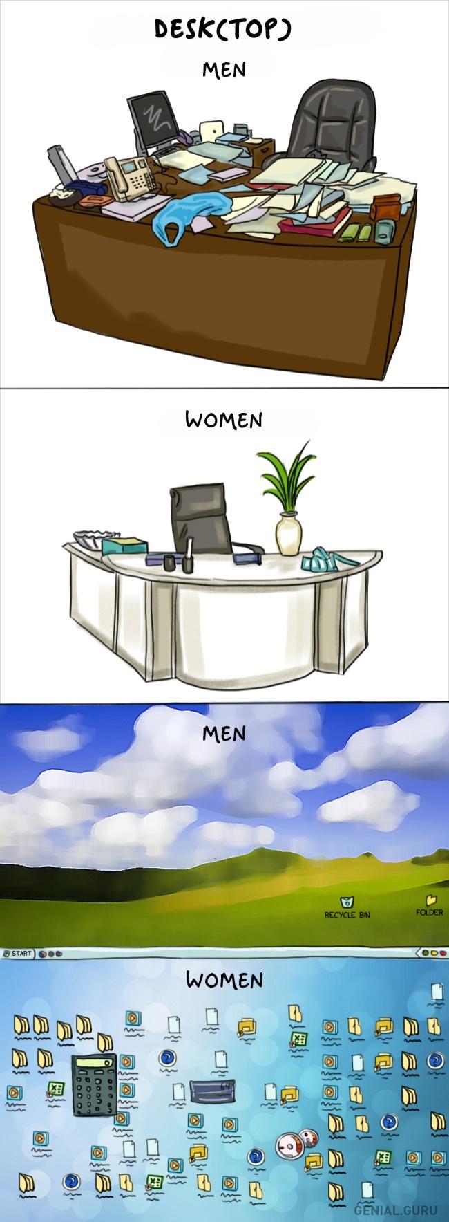 Des clichés tellement drôles sur les différences entre Hommes et Femmes 06