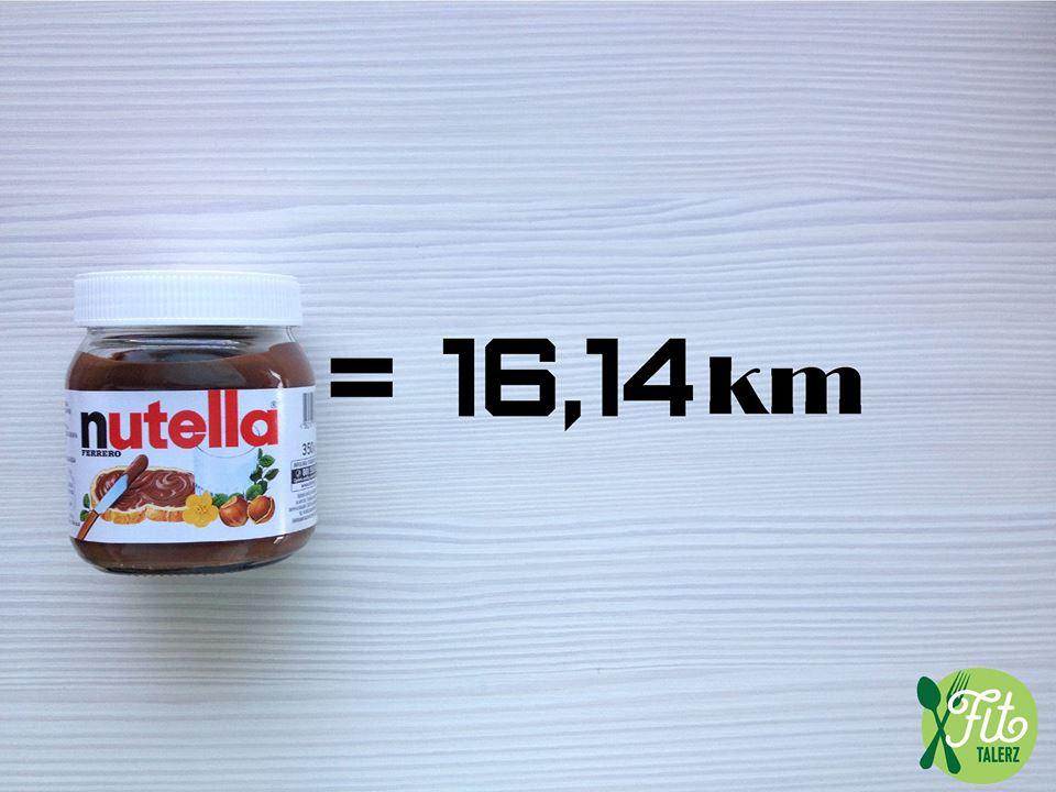 Fit Talerz-kilometre-à-parcourir-courrir-après-du-Nutella