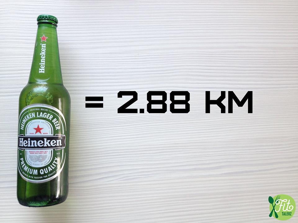Fit Talerz-kilometre-à-parcourir-courrir-après-une-bière-Heineken