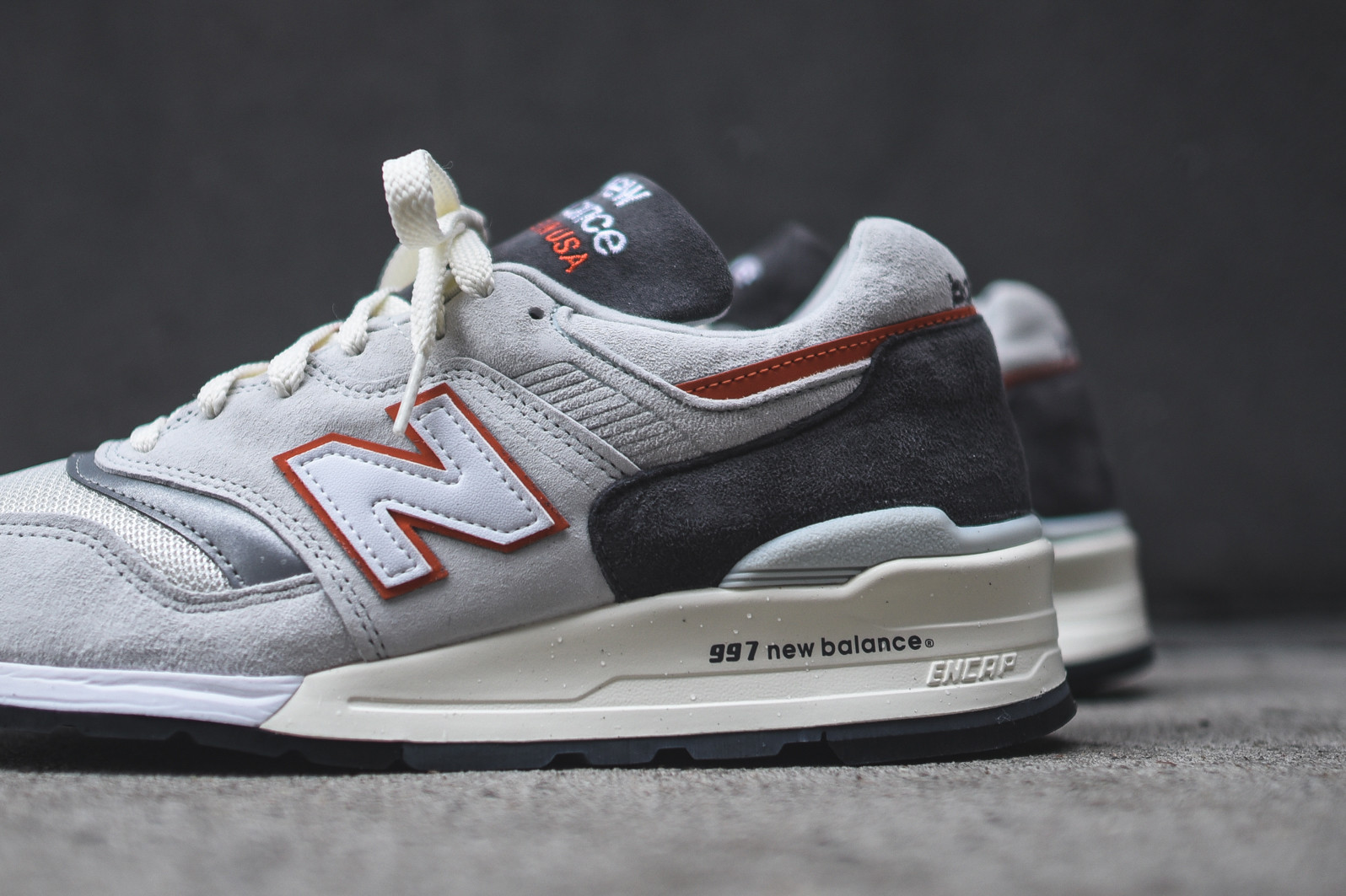 new balance 997 homme gris