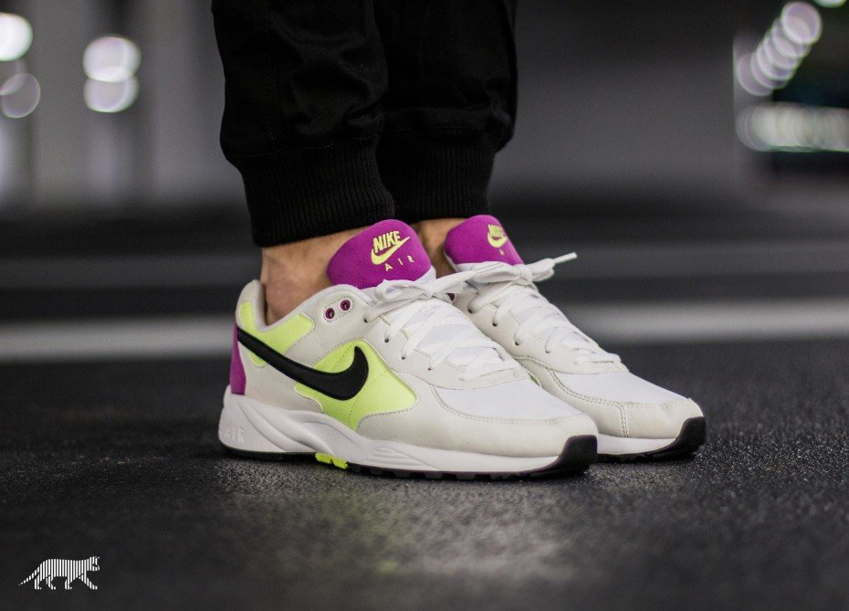 Nike Air ICARUS NSW 2016-Blanc-Volt-Fuchsia flash-Noir-réédition-running-retro-05