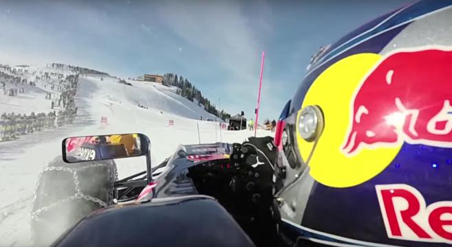 RedBul-amende-30000 euros-Max-Verstappen-F1-Ski-Formule1-sur-la-neige-buzz-effronté