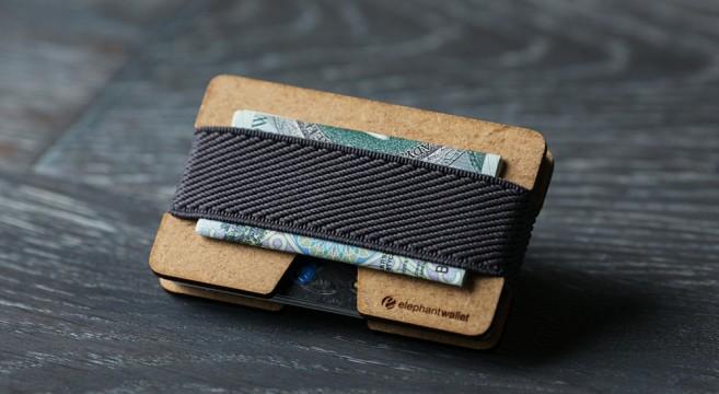 porte-cartes en bois Eléphant Wallet sélection 12 plus beaux portes-cartes en bois