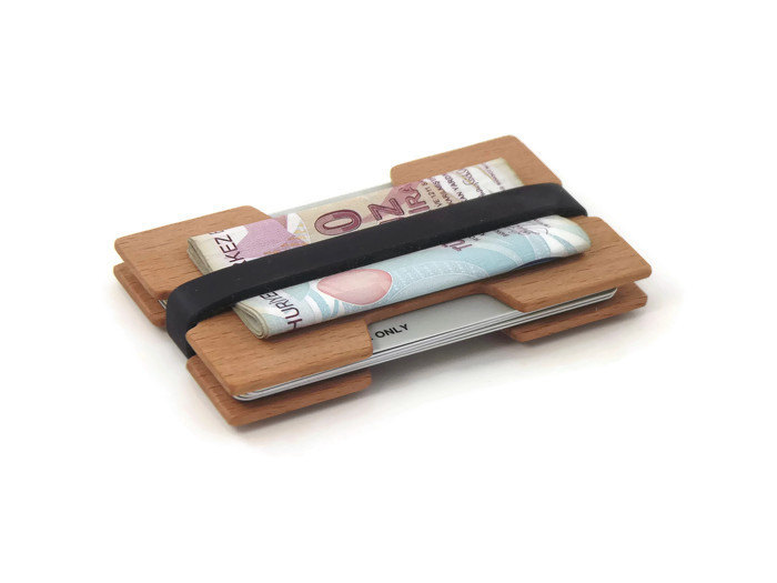 Porte Cartes En Bois IWOODART Selection 12 Plus