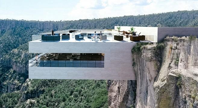 Bire Bitori - Copper canyon restaurant à Mexico par Tall Arquitectos effronté 0