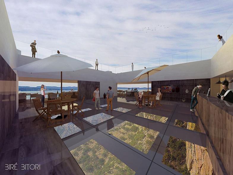 Bire Bitori - Copper canyon restaurant à Mexico par Tall Arquitectos effronté 01