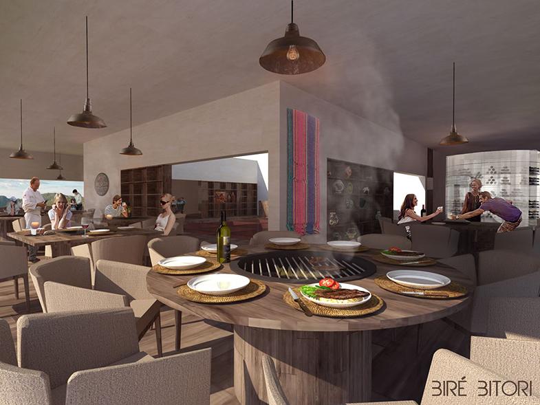 Bire Bitori - Copper canyon restaurant à Mexico par Tall Arquitectos effronté 02
