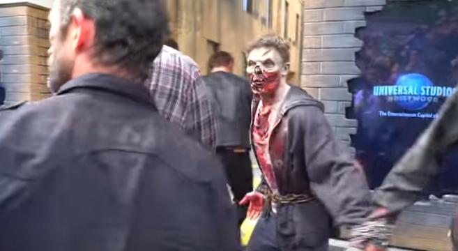 attraction-The Walking Dead-ouvre-ses-portes-à-Los Angeles-Universal Studios