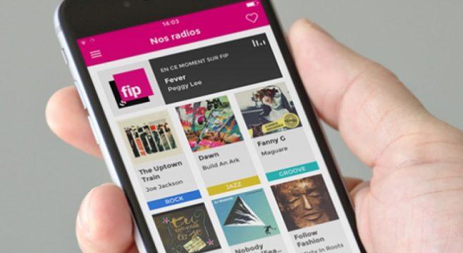 FIP et sa nouvelle application mobile webradio radio france musique tendance effronté 01