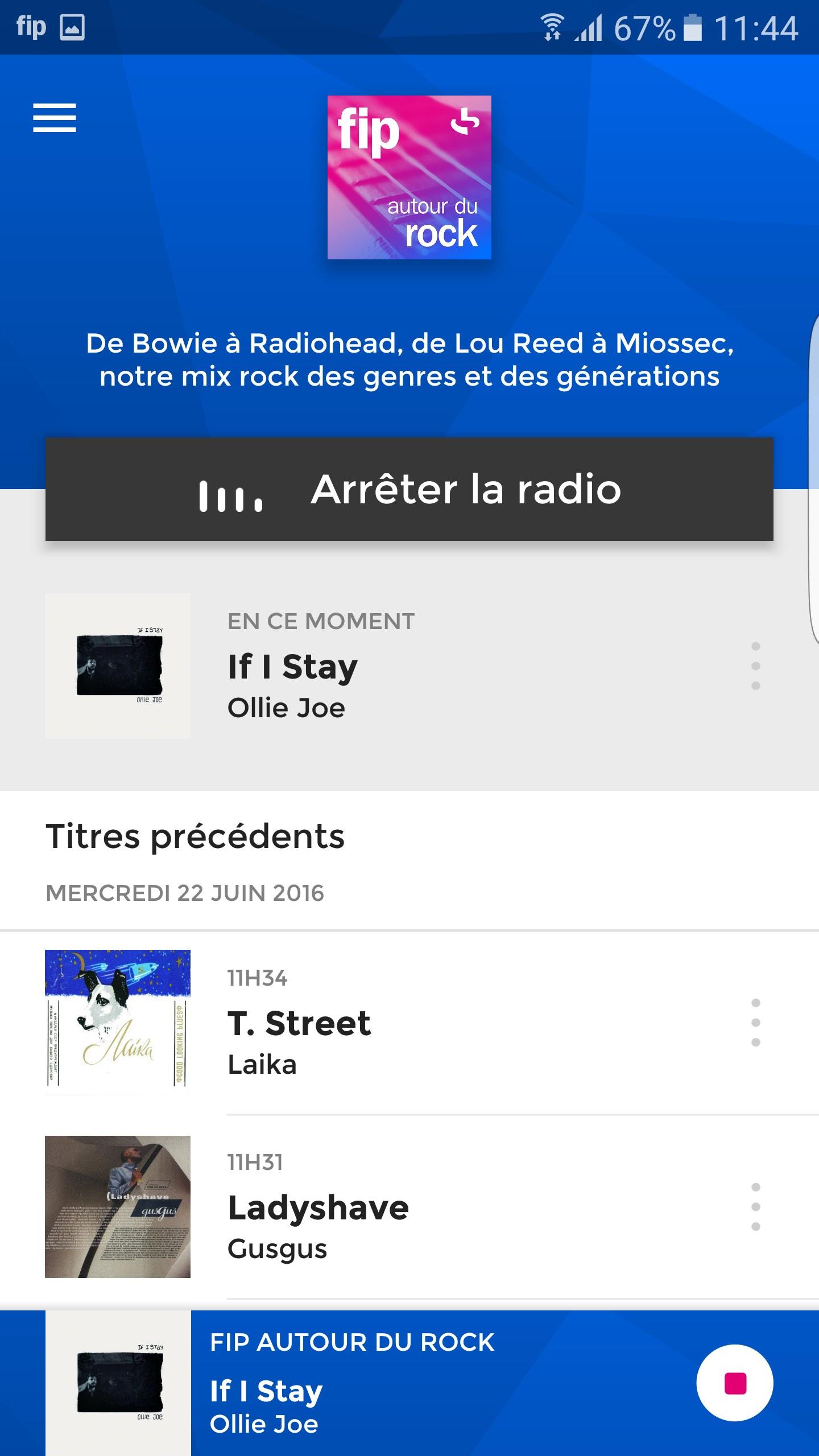 FIP et sa nouvelle application mobile webradio radio france musique tendance effronté 04