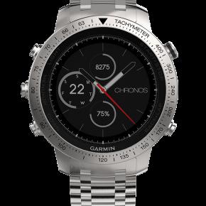 Garmin-Fenix-Chronos-montre-luxe-high-tech-effronté-cuir-titane-acier-02