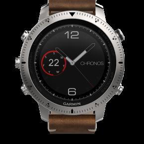 Garmin-Fenix-Chronos-montre-luxe-high-tech-effronté-cuir-titane-acier-03