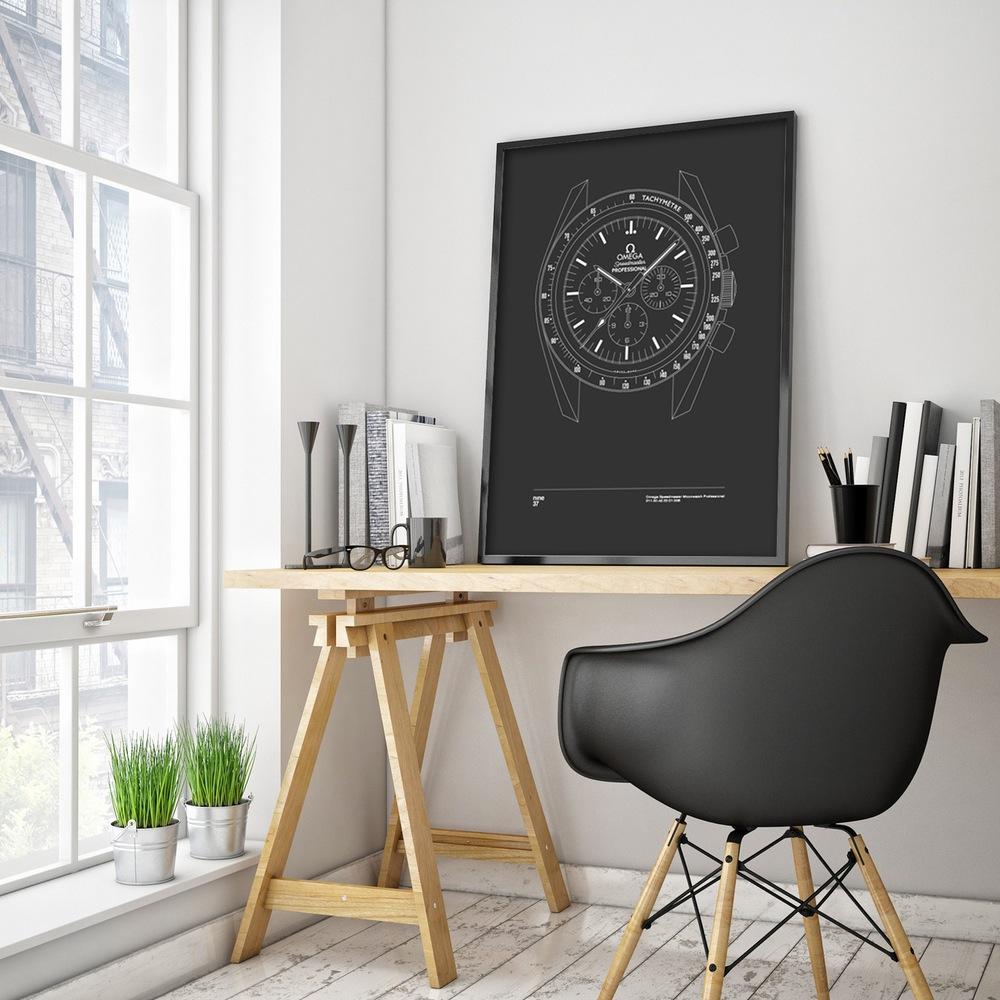 Nine37-affiches-de-montres-horlogerie-design-minimaliste-poste-qualité-rolex-patek-omega-IWC-effronté-05