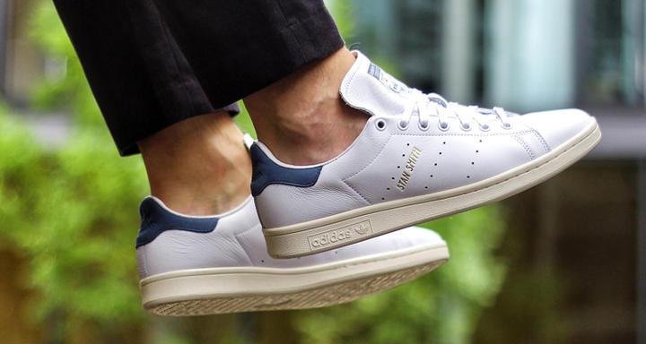 Nouvelles Stan Smith 2016 Coloris bleu marine tech ink mode sneakers effronté 01