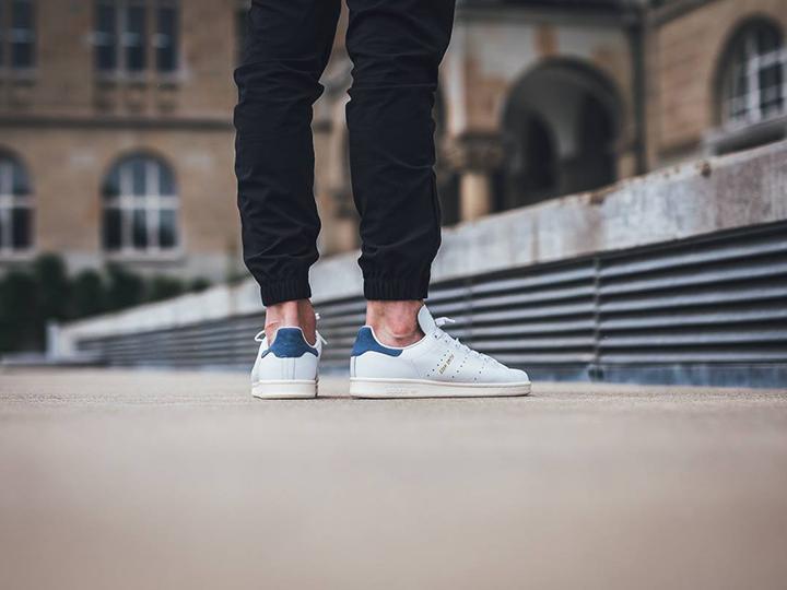 Nouvelles Stan Smith 2016 Coloris bleu marine tech ink mode sneakers effronté 02
