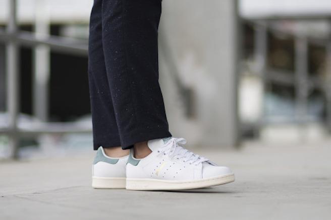 Nouvelles Stan Smith 2016 Coloris vert d'eau vapour steel mode sneakers effronté 04